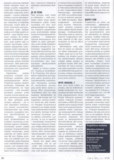 Spinneri Magazine TPI Viritysopas